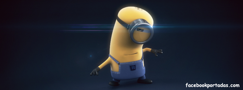portada de facebook minion supervillano favorito